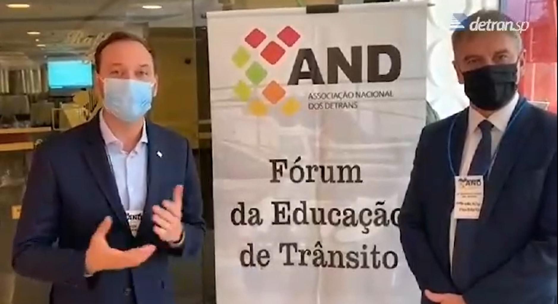 VÍDEO: diretor-presidente do Detran.SP parabeniza setor pelo Dia da Autoescola
