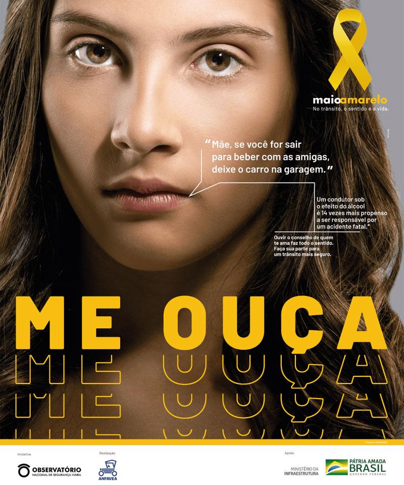 #MEOUÇA Maio Amarelo divulga campanha para 2019 com protagonismo das crianças no trânsito
